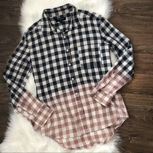 Bycorpus Urban Outfitter Dipped Flannel